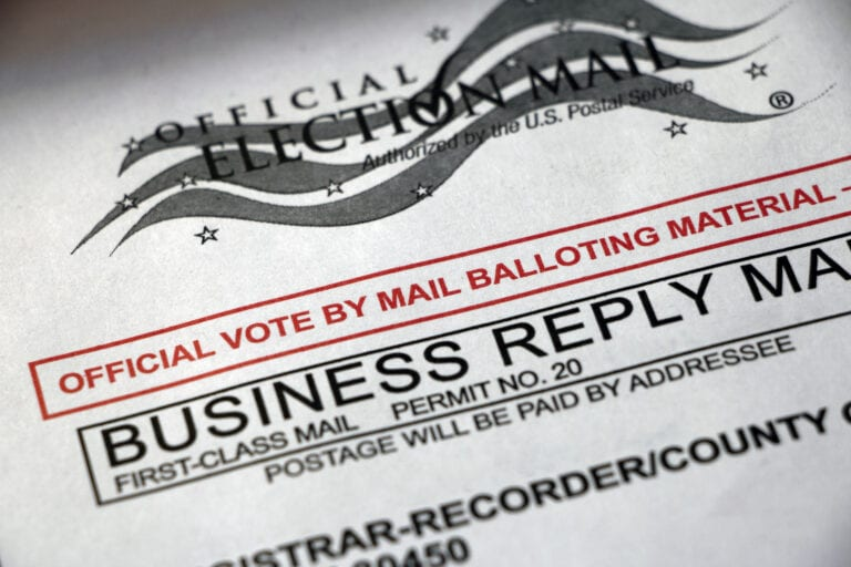 Election Day in Gilliam County