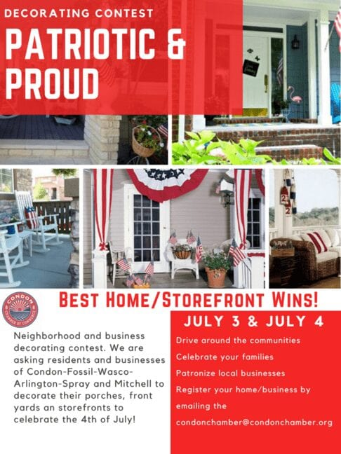 Porch Decorating Contest provides sense of community over 4th of July weekend