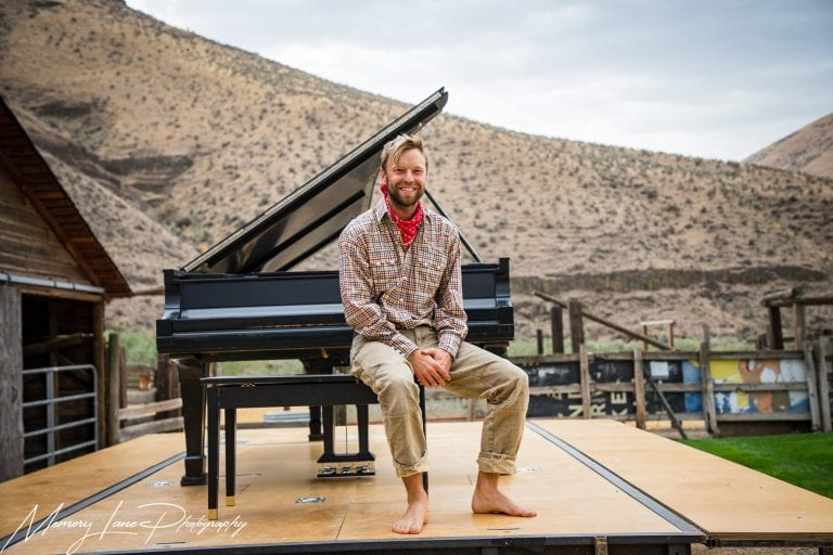Renowned pianist Hunter Noack performs at Cottonwood Canyon State Park