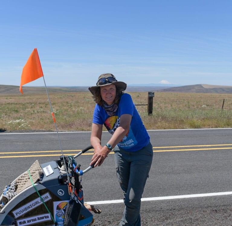 German activist travels through JDRT on walk across America