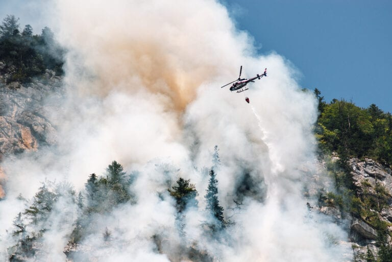 Regulated-use closure implemented to reduce human caused wildfires