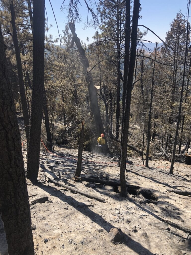 Lewis Rock Fire in Wheeler Co. 80% contained
