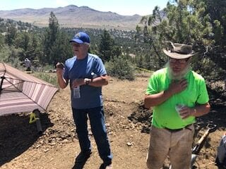 Dinosaur vertebrae discovered near Mitchell